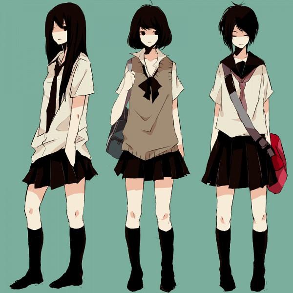 Tags: Anime, Kana (kwbr32), PNG Conversion, Pixiv, Original