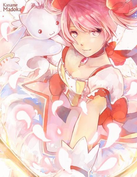 Tags: Anime, dreamocean, Mahou Shoujo Madoka☆Magica, Kaname Madoka, Kyubee, Soul Gem, Pixiv