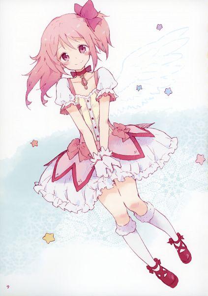 Tags: Anime, Tiv, Mahou Shoujo Madoka☆Magica, life of negentropy, Kaname Madoka, Mobile Wallpaper, Scan