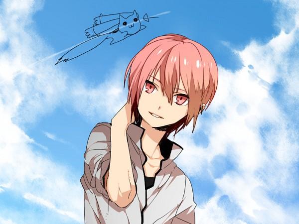 Tags: Anime, Kurono Yuu, Mahou Shoujo Madoka☆Magica, Kyubee, Kaname Madoka, Pixiv, Fanart, Fanart From Pixiv, PNG Conversion