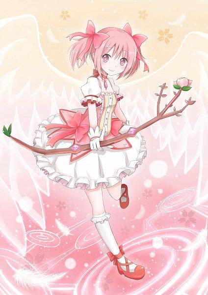 Tags: Anime, Snowmi, Mahou Shoujo Madoka☆Magica, Kaname Madoka, Fanart, Fanart From Pixiv, Mobile Wallpaper, Pixiv