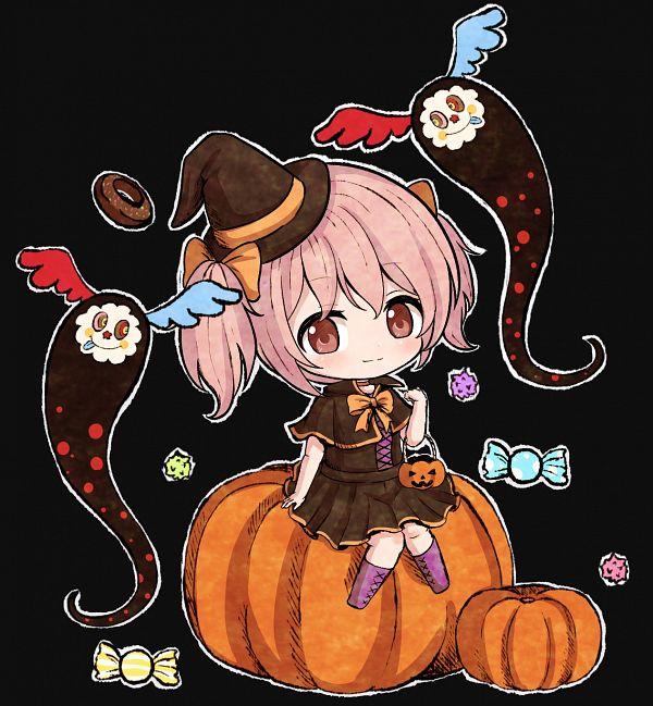 Tags: Anime, Pixiv Id 34564168, Mahou Shoujo Madoka☆Magica, Charlotte (Madoka Magica), Kaname Madoka, Pixiv, Fanart From Pixiv, Fanart