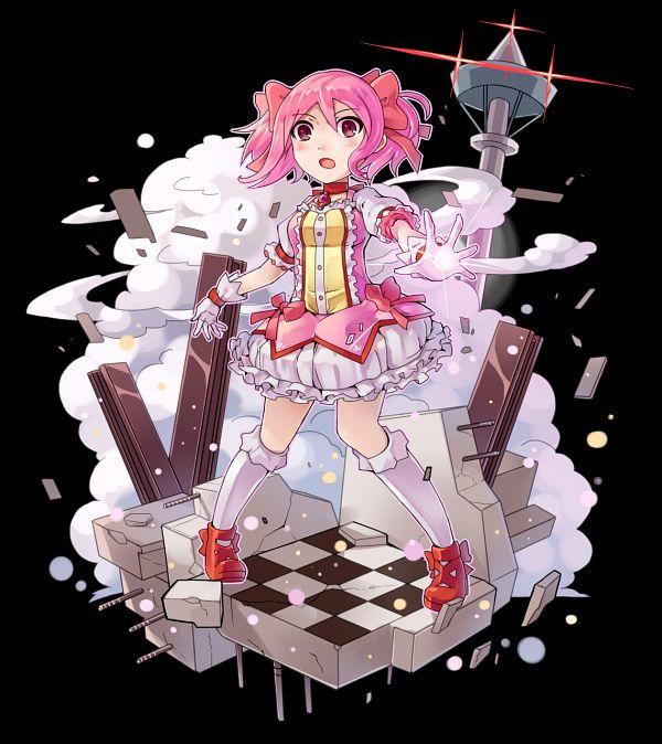 Tags: Anime, Srx61800, Mahou Shoujo Madoka☆Magica, Merc Storia, Kaname Madoka, Pixiv, Fanart, Fanart From Pixiv
