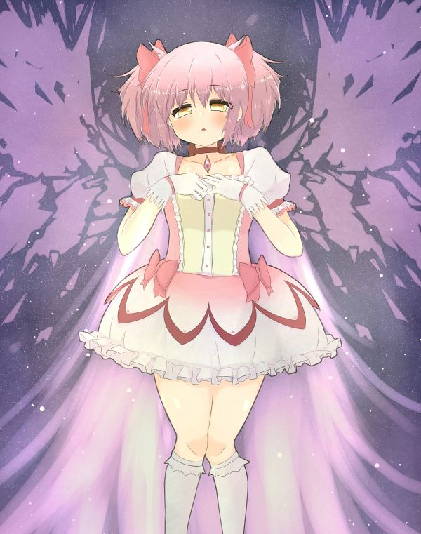 Tags: Anime, Hiro (Pixiv 14058137), Mahou Shoujo Madoka☆Magica, Kaname Madoka, Pixiv, Fanart, Fanart From Pixiv