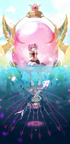Tags: Anime, Kaida, Mahou Shoujo Madoka☆Magica, Kriemhild Gretchen, Kaname Madoka, Prisoner, Soul Gem, Bright Colors