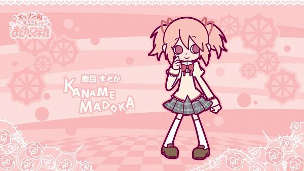 Tags: Anime, Hakusairanger, KONAMI (Studio), Mahou Shoujo Madoka☆Magica, Pop'n Music, Kaname Madoka, HD Wallpaper, Wallpaper