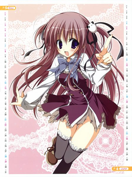 Tags: Anime, Inugami Kira, Ebiten, Ebiten 2011 Calendar, Kanamori Hakata, Official Art, Pixiv, Calendar (Source)