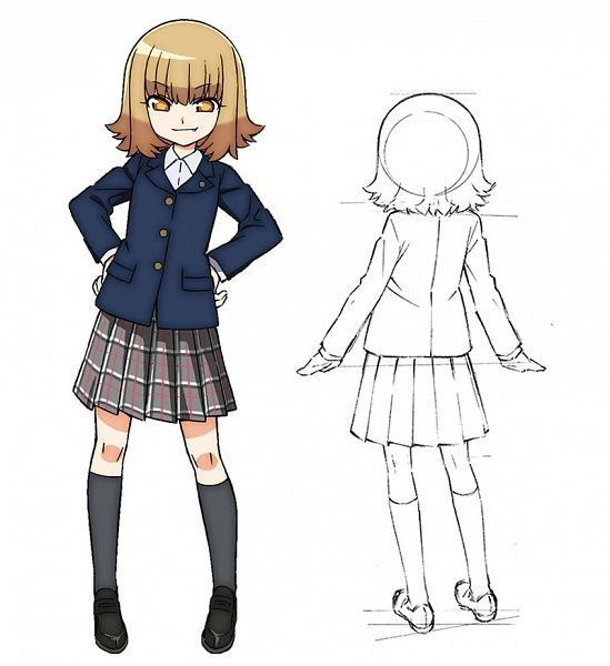 Tags: Anime, Hirata Katsuzou, AXsiZ, Studio Gokumi, Maesetsu!, Kanari Kanae, Official Art, Cover Image