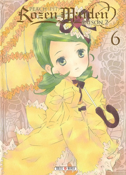 Tags: Anime, PEACH-PIT, Rozen Maiden, Kanaria, Official Art, Manga Cover, Scan