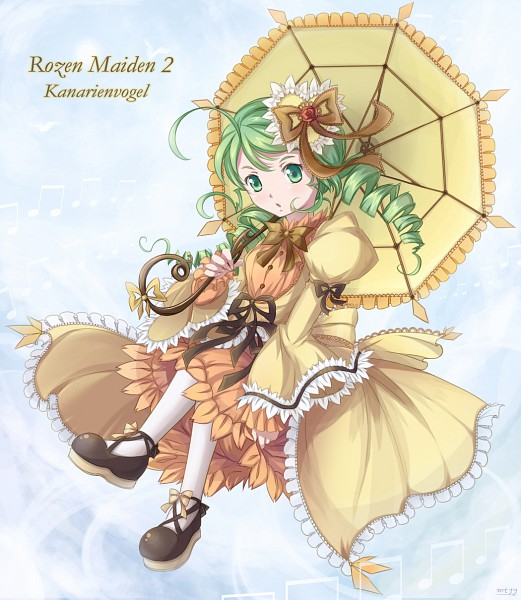 Tags: Anime, Mtyy, Rozen Maiden, Kanaria, Pixiv, Fanart From Pixiv, Fanart