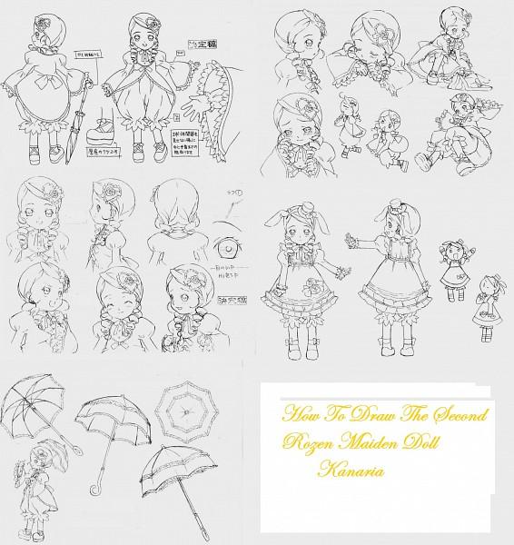 Tags: Anime, Rozen Maiden, Kanaria, Sketch
