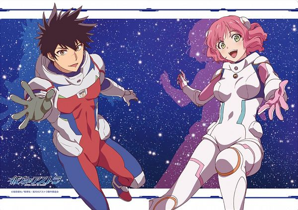 Tags: Anime, Lerche, Kanata no Astra, Aries Spring, Hoshijima Kanata, Official Art, Astra Lost In Space