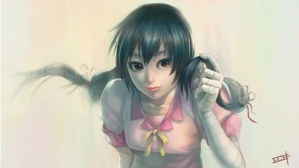 Tags: Anime, Shouka, Monogatari, Kanbaru Suruga, Wallpaper