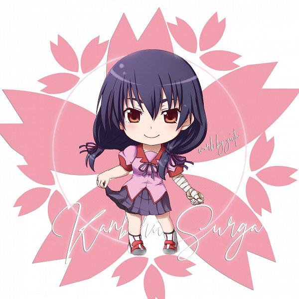 Tags: Anime, Kuena, Monogatari, Owarimonogatari, Bakemonogatari, Kanbaru Suruga