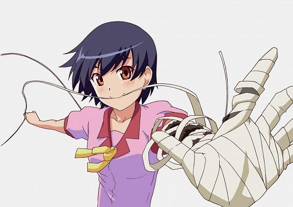 Tags: Anime, Kiyukiyutan, Monogatari, Kanbaru Suruga