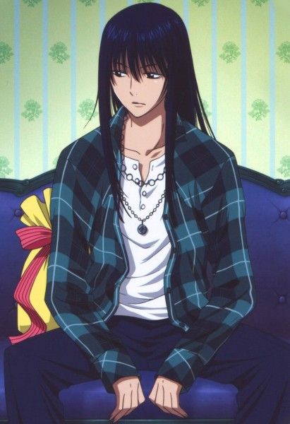 Tags: Anime, Hoshino Katsura, D.Gray-man, Kanda Yuu, Official Art, Mobile Wallpaper