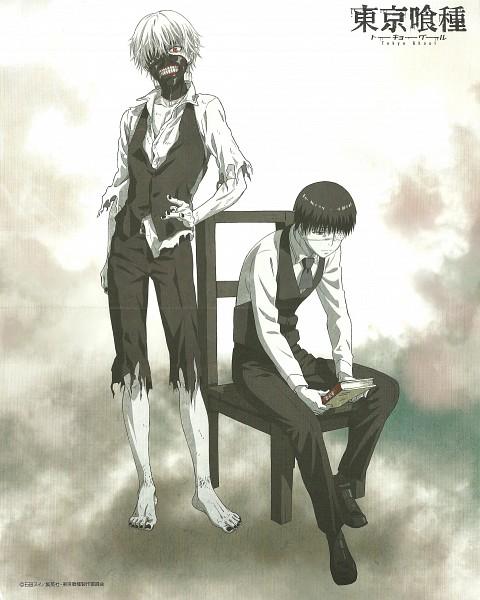 Tags: Anime, Studio Pierrot, Tokyo Ghoul, Kaneki Ken, Mind Break, Scan, Official Art