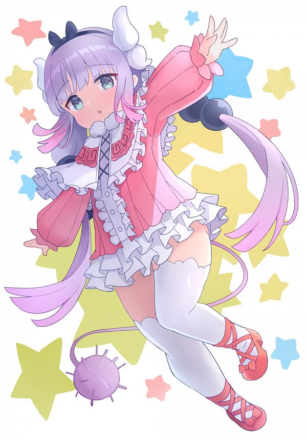 Tags: Anime, Pixiv Id 4039105, Kobayashi-san Chi no Maid Dragon, Kanna Kamui, Pixiv, Fanart, Fanart From Pixiv