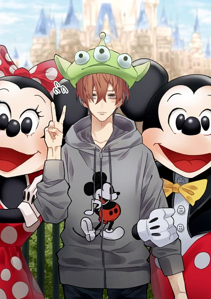 Tags: Anime, Pixiv Id 10436378, Hypnosis Mic -Division Rap Battle-, Toy Story, Aliens (Toy Story), Kannonzaka Doppo, Minnie Mouse, Mickey Mouse, Minnie Mouse (Cosplay), Disneyland, Mickey Mouse (Cosplay), Aliens (Toy Story) (Cosplay), Disney