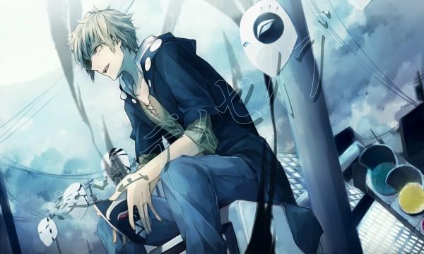 Tags: Anime, Pixiv Id 4747381, Kagerou Project, Kano Shuuya, Fanart From Pixiv, Pixiv, Fanart