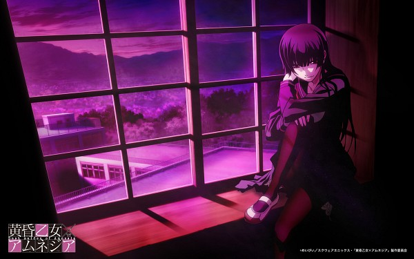 Tags: Anime, Silver Link, Tasogare Otome x Amnesia, Kanoe Yuuko, Dusk, Wallpaper, Official Art, Official Wallpaper