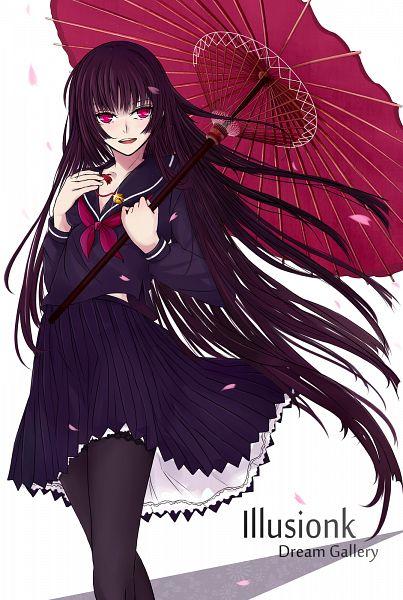 Tags: Anime, Illusionk, Poco, Tasogare Otome x Amnesia, Kanoe Yuuko, Mobile Wallpaper