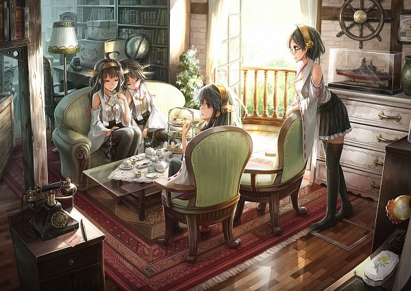 Tags: Anime, Lif (Lif-ppp), Kantai Collection, Haruna (Kantai Collection), Hiei (Kantai Collection), Kongou (Kantai Collection), Kirishima (Kantai Collection)