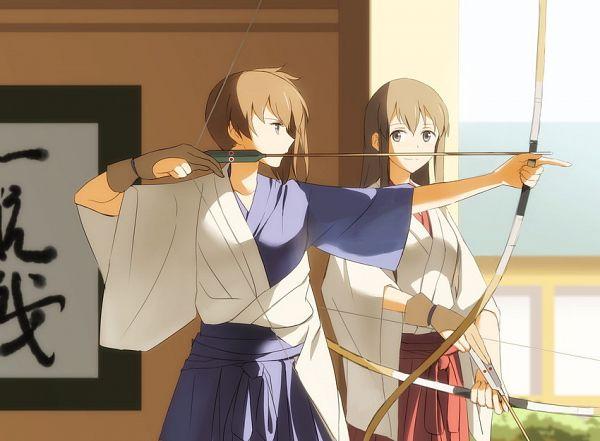 Tags: Anime, Kisetsu, Kantai Collection, Kaga (Kantai Collection), Akagi (Kantai Collection), Downscale