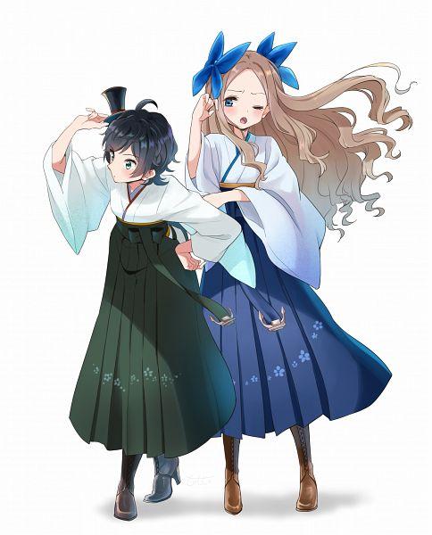 Tags: Anime, Pixiv Id 39342258, Kantai Collection, Matsukaze (Kantai Collection), Asakaze (Kantai Collection)