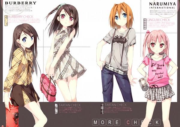 Tags: Anime, Kantoku, Shizuku (Kantoku), Miyaguchi Kanna, Miyaguchi Hiromi, Miyaguchi Kei, Burberry, Comic Market 78, Pixiv, Comic Market
