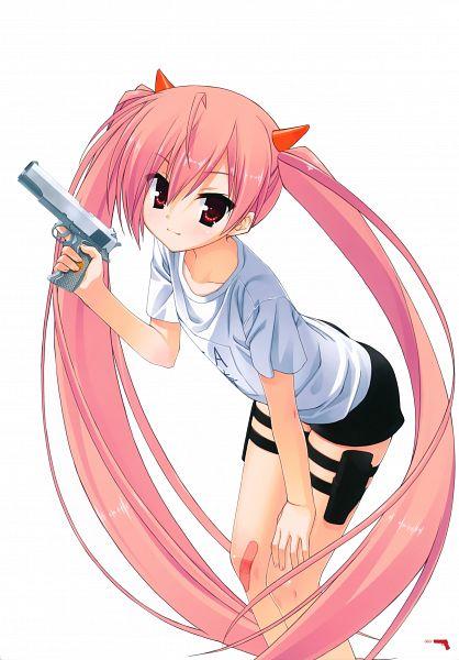 Tags: Anime, Kobuichi, Hidan no Aria, Hidan no Aria Illustrations, Kanzaki H Aria, Mobile Wallpaper, Scan, Official Art