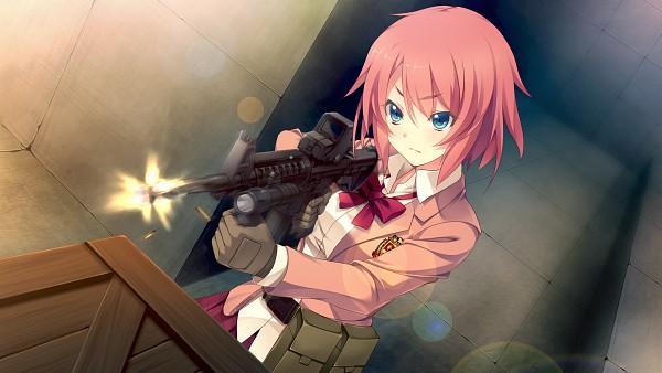 Tags: Anime, Oosaki Shinya, CINEMATOGRAPH, Innocent Bullet -the false world-, Kanzaki Sayaka, HD Wallpaper, Wallpaper, CG Art