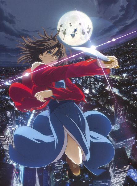 Tags: Anime, ufotable, TYPE-MOON, Kara no Kyoukai, Fujou Kirie, Ryougi Shiki, Scan, Official Art, The Garden Of Sinners