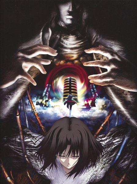 Tags: Anime, TYPE-MOON, ufotable, Kara no Kyoukai, Araya Souren, Ryougi Shiki, Enjou Tomoe, Official Art, Scan, The Garden Of Sinners