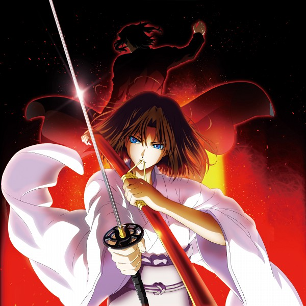 Tags: Anime, ufotable, TYPE-MOON, Kara no Kyoukai, Araya Souren, Ryougi Shiki, Official Art, The Garden Of Sinners