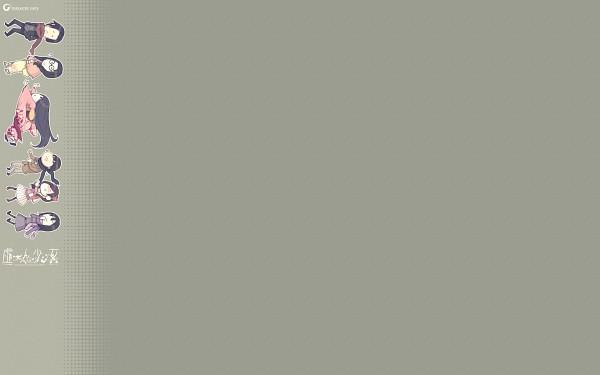 Tags: Anime, Sugina Miki, Innocent Grey, Kara no Shoujo 2, Takamiya Meguri, Hinagami Karen, Kuroya Naori, Satsuki (Kara no Shoujo 2), Hinagami Ayato, Futami Yuu, Official Wallpaper, Wallpaper, Official Art, Empty Girl