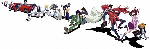 Tags: Anime, Karakuri Douji Ultimo, Makoto Sayama, Gauge, K (Character), Mizho, Orgullo, Yamato Agari, Hidaka Akira (Karakuridouji Ultimo), Musashi Murayama, Paresse, Désir, Kiyose Matsumoto