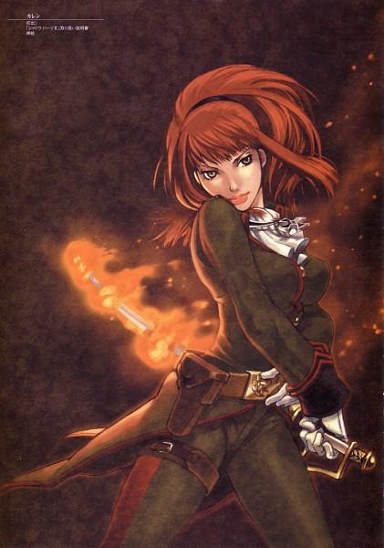 Tags: Anime, Shadow Hearts, Karin Koenig, Official Art