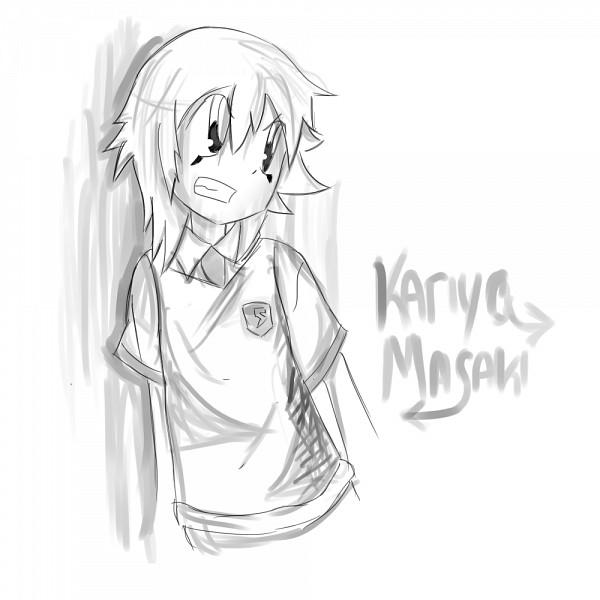 Tags: Anime, Zappyspiker, Level-5, Inazuma Eleven, Inazuma Eleven GO, Kariya Masaki, Sketch