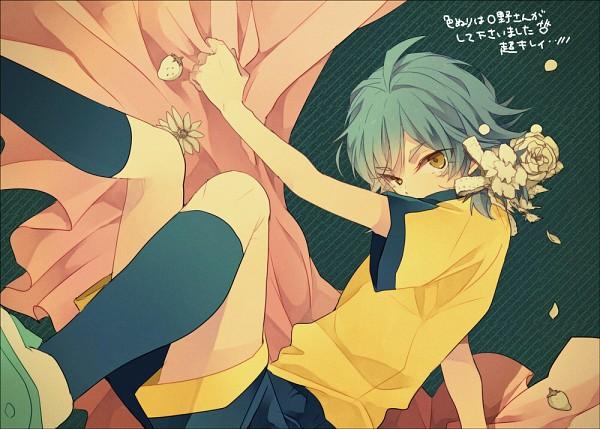 Tags: Anime, Nini (iskha), Inazuma Eleven, Inazuma Eleven GO, Kariya Masaki, Fanart From Pixiv, Pixiv, Fanart