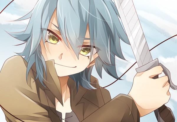 Tags: Anime, Pixiv Id 2952114, Inazuma Eleven GO, Kariya Masaki, Shingeki no Kyojin (Cosplay), Fanart, Fanart From Pixiv, Pixiv