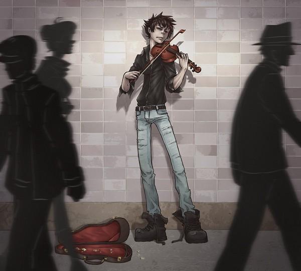 Tags: Anime, -syb, Homestuck, Karkat Vantas, Instrument Case, deviantART, Fanart