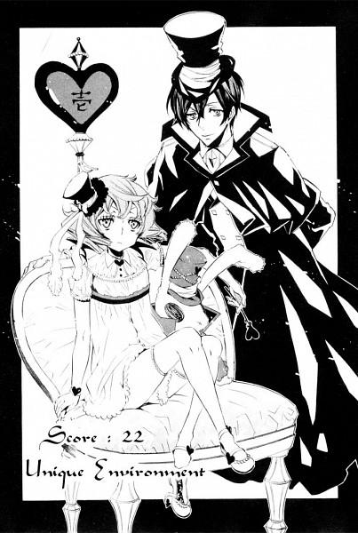 Tags: Anime, Karneval, Jiki, Kiichi (Karneval), Official Art, Mobile Wallpaper, Scan