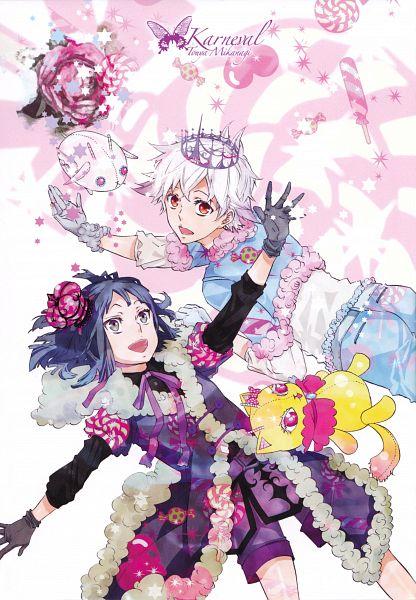 Tags: Anime, Mikanagi Touya, Karneval, Yanari, Mobile Wallpaper, Official Art