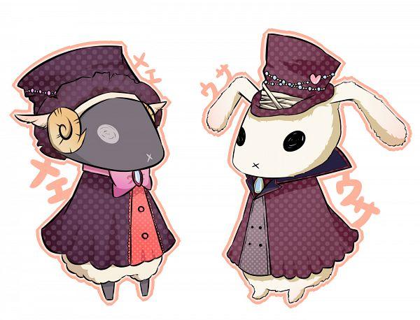 Tags: Anime, Pixiv Id 2238490, Karneval, Usagi (Karneval), Hitsuji (Karneval), Fanart, Fanart From Pixiv, Pixiv