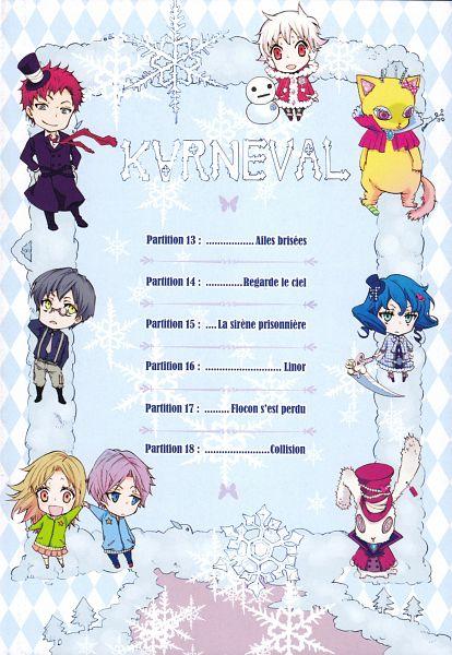 Tags: Anime, Mikanagi Touya, Karneval, Yukkin, Usagi (Karneval), Tsukitachi, Nai (Karneval), Jiki, Tsubame (Karneval), Kiichi (Karneval), Yotaka, Nyanperona, Manga Page