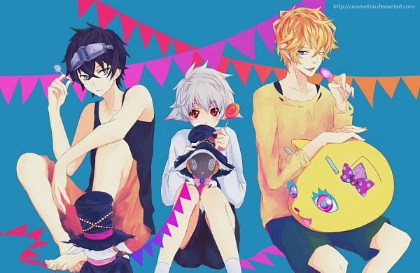 Tags: Anime, Caramellon, Karneval, Nyanperona, Yogi, Gareki, Hitsuji (Karneval), Nai (Karneval), Fanart From DeviantART, deviantART, Fanart