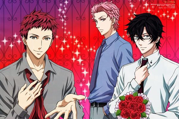 Tags: Anime, manglobe, Karneval, Hirato, Akari (Karneval), Tsukitachi, Official Art