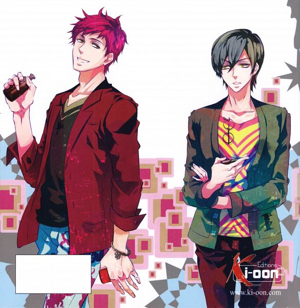 Tags: Anime, Mikanagi Touya, Karneval, Tsukitachi, Jiki, Scan, Official Art