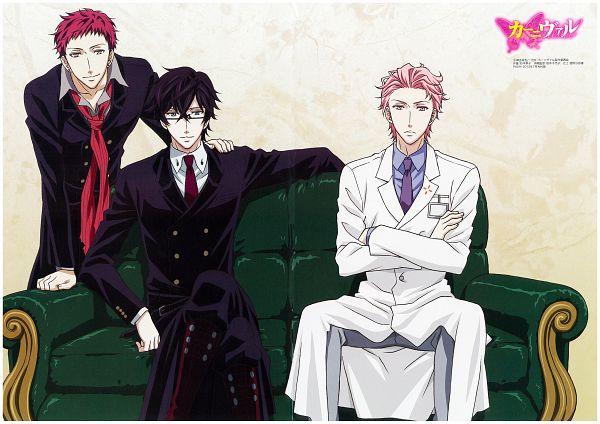 Tags: Anime, manglobe, Karneval, Akari (Karneval), Tsukitachi, Hirato, Scan, Official Art